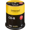 EUR 14,99 - CD-R 80 Min/700 MB Intenso 52x in cakebox 100 Stuks
